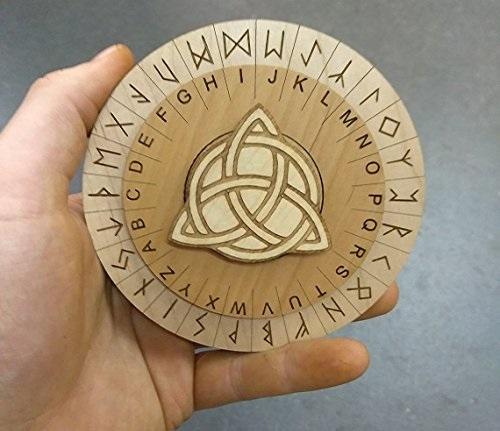 Mini Runes Cipher for Escape Rooms
