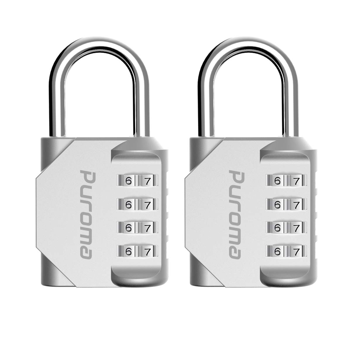 Puroma 2 Pack Combination Lock
