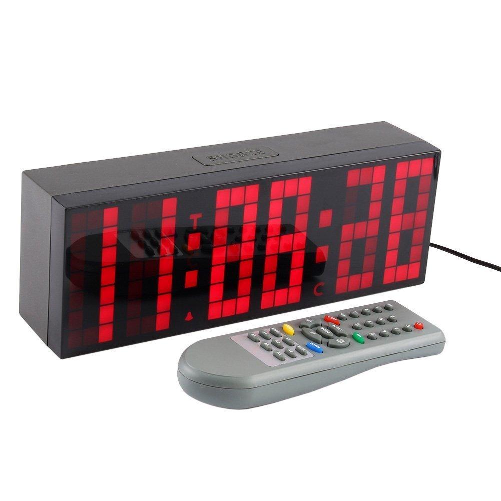 ZJchao Big Time Clocks LED Digital Alarm