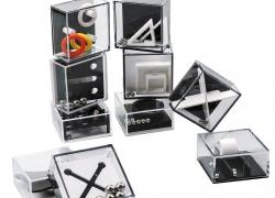 ROMIX Fidget Puzzle Boxes Mini Brain Teaser