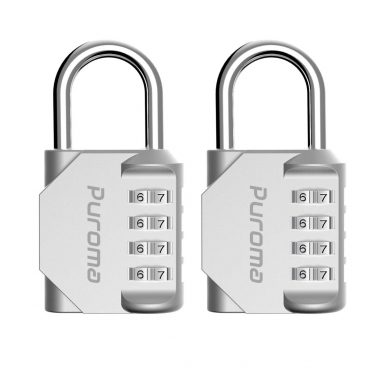 Puroma 2 Pack Combination Lock